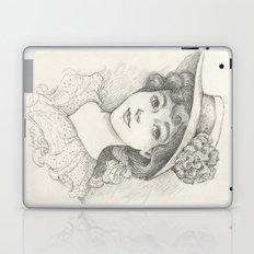 Sketch of an Edwardian Lady Laptop & iPad Skin