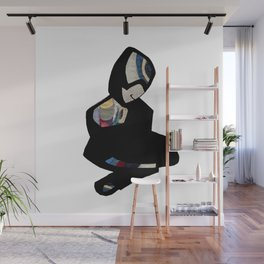 Sitting figure Wall Mural