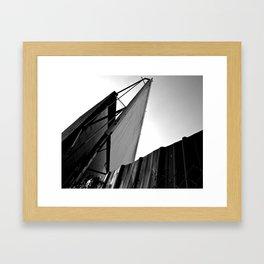The Drive-In Framed Art Print