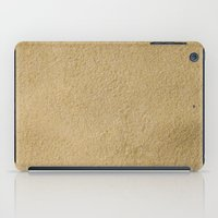 sand iPad Cases featuring Sand by Patterns and Textures