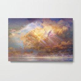 Sky-High Metal Print
