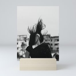 new moon Mini Art Print