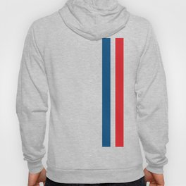 McQueen – Red and Blue Stripes Hoody