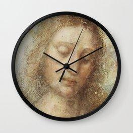 "Leonardo da Vinci ""Head of Christ"" Wall Clock"