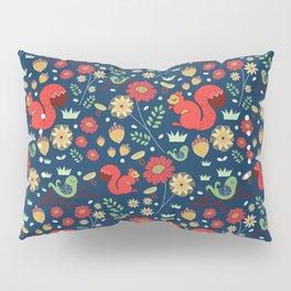 Let's go nuts! - Surface Pattern Design - ByBeck Pillow Sham