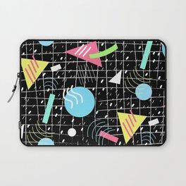 Memphis Style Vibes (Dark) Laptop Sleeve