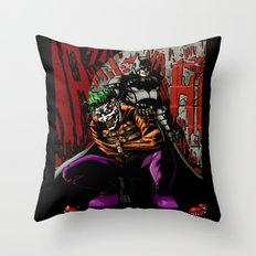 Laughing In The Dark Throw Pillow