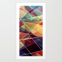 journey Art Prints featuring Journey by VessDSign
