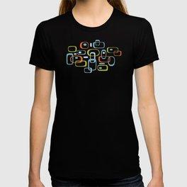 1950s Retro Organic Pattern T-shirt
