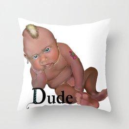 Hey Dood Throw Pillow