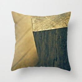 Woodwalk Throw Pillow