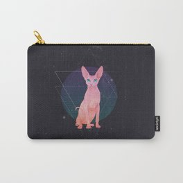 Galaxy Sphynx Cat Carry-All Pouch