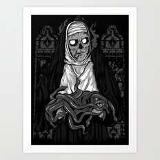 SERPENT SERVICE Art Print