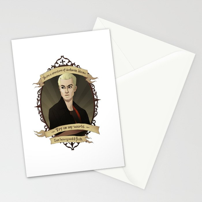Spike Buffy The Vampire Slayerangel Stationery Cards By