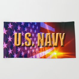 U.S. Navy  Beach Towel