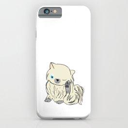 chihuahua scratches, puppy, cute iPhone Case