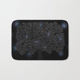 Klimt Tree - Night Sky Bath Mat