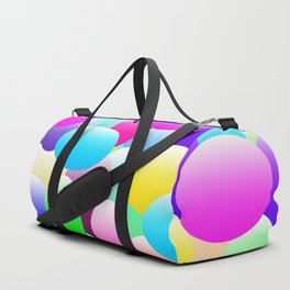Bubble Eggs Dark Duffle Bag