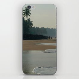 Black Beach Varkala iPhone Skin