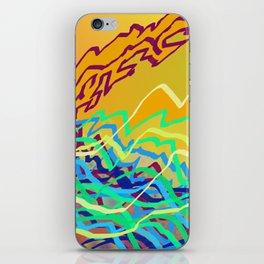 Coastal Frequencies 2 iPhone Skin