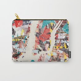 New York Map collage magazine Carry-All Pouch