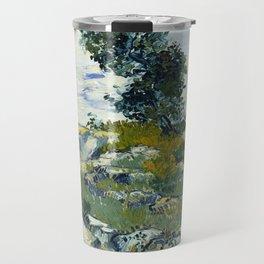 The Rocks by Vincent van Gogh Travel Mug