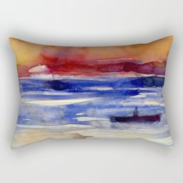 Sunset at Key West Rectangular Pillow
