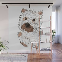Lolo, West Highland Terrier Wall Mural