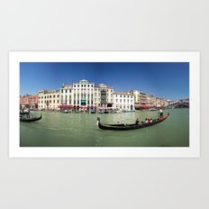 italy - venice - widescreen_600-603 Art Print