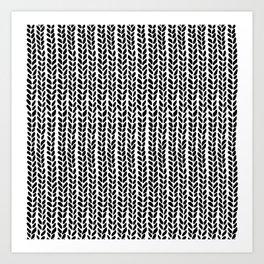 Knit Wave 2 Art Print