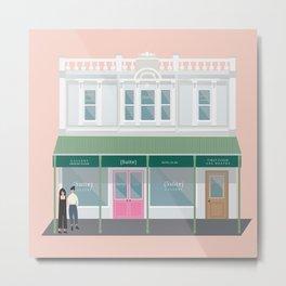 Suite Gallery, Cuba Street, Wellington, NZ Metal Print