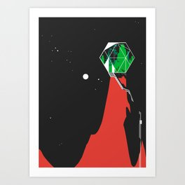 Green Jewel Art Print