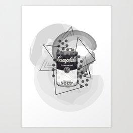 Creative Soup Art Print