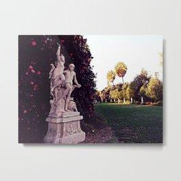 Statues dancing at Huntington Park Metal Print