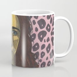 Polly Jean and the Pink Leopard Coffee Mug