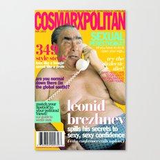 COSMARXPOLITAN, Issue 10 Canvas Print