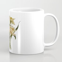 Plant Kindness and Gather Love Proverb With Daffodils Coffee Mug