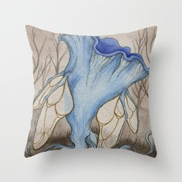 Mycological Oddity Throw Pillow