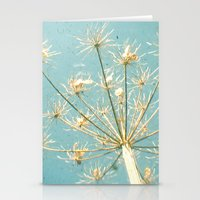 umbrella Stationery Cards featuring Umbrella by Cassia Beck