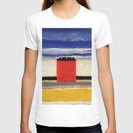 Kazimir Malevich Red house T-shirt