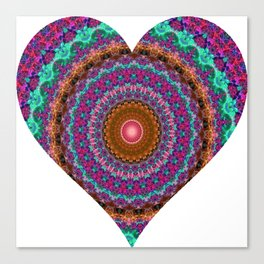 XL Valentine's Heart 5 Canvas Print