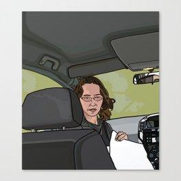 The Road Trip Canvas Print