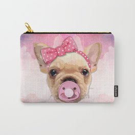 Baby Bulldog Carry-All Pouch