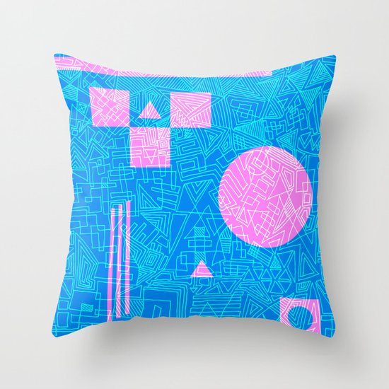 Futurism Throw Pillow