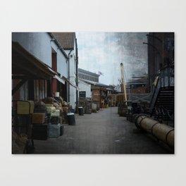 Bristol Dockside Canvas Print