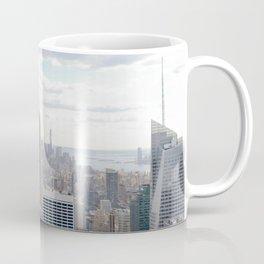 Manhattan skyline view Coffee Mug
