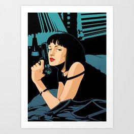Pulp Fiction Art Print