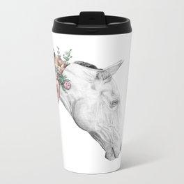 Horse Metal Travel Mug