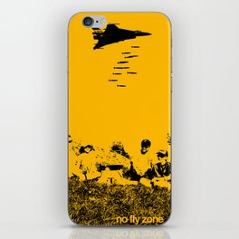 No fly zone. iPhone Skin