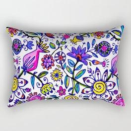 springtime flurry Rectangular Pillow